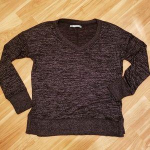 Maurices V-Neck Long Sleeve Shirt